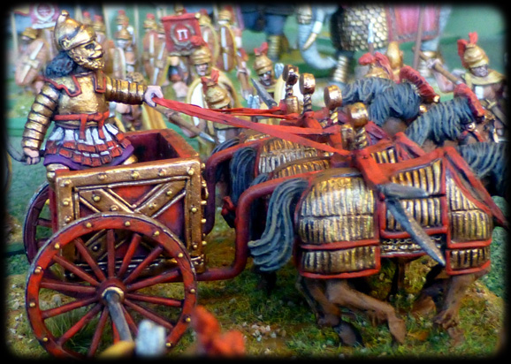 28mm Scythed Chariot Gripping Beast