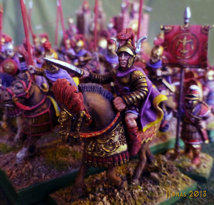 Antiochus III in 28mm by Relic Miniatures