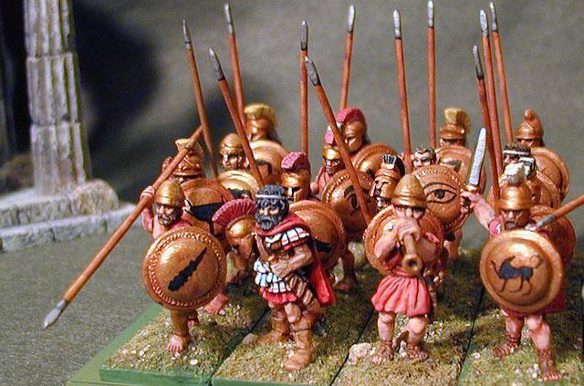 how to make a greek hoplite shield
